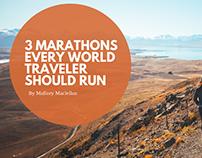 3 Marathons Every World Traveler Should Run