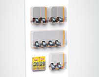 Mobiliário - Mostruário aparelhos