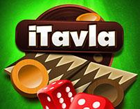 iTavla IOS Backgammon Game App.