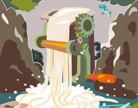 Noodle Falls 麺滝