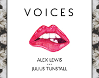 """Alex Lewis """"Voices"""" Cover Art"""