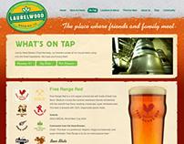 Laurelwood Brewing Site Design