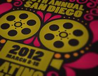 San Diego Latino Film Festival 2012 Poster