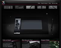 Wacom Intuos 4 Campaign Site Design