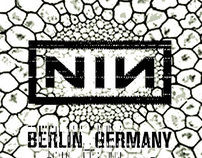 Nine Inch Nails concert posters, 2005-2009
