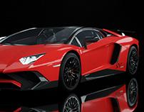 Lamborghini Lp 750 Render