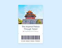 Beijing park ticket