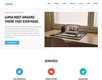 Lumia  Multipurpose Responsive Bootstrap Template