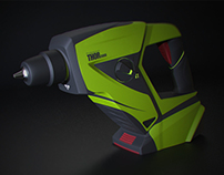 Cordless Hammer Drill - Concept Project - Thor 3000