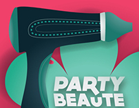 Party Beaute Invitation
