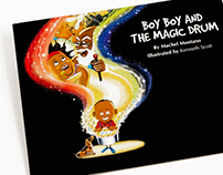 Boy Boy and the Magic Drum storybook