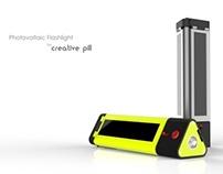 Photovoltaic Flashlight