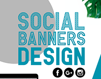Social Banners design