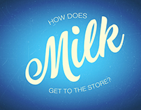 How Does Milk Get to the Store?
