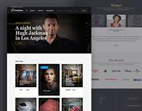 Charitystars.com // Website Redesign