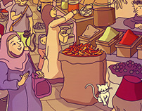 Storyweaver Spotathon Entry - At the Spice Market