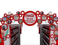 Puntas de góndola Coca-Cola
