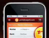 Yemek Sepeti iPhone App
