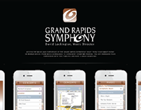 Grand Rapids Symphony - iPhone App