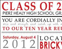 Highschool Reunion Invitation