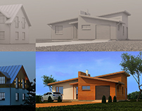 PRIVATE HOUSES VISUALIZATIONS