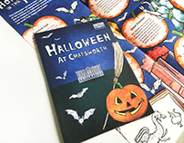 Illustrated Halloween Trail Leaflet