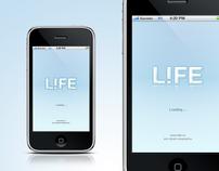 Life.ru app UI design