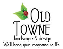 Old Towne Landscape & Design logo creation