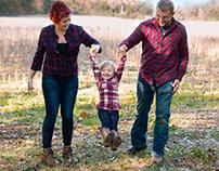 Lori, Justin, & Autumn Family Photos