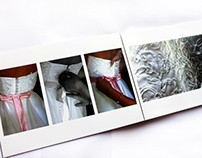 Hand Made Wedding Album.