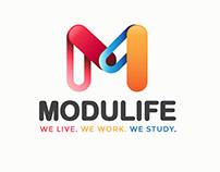 Modulife Logo Design