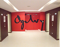 Ogilvy & Mather's 5th floor signature