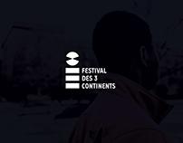 FESTIVAL DES 3 CONTINENTS