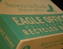 American Eagle Paper Mills Ream Box Lid