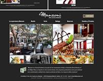 web designed manzoni