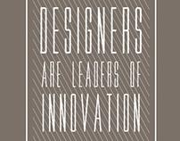 Designers=Inovation