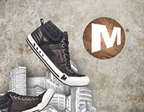 AD Campaign MERRELL FALL/WINTER'12