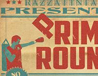Razzatinta- Primo Round (cd Cover)