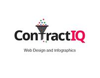 ContractIQ - Web Design & Infographics
