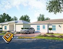 Single Storey Residential House MIAMI FLORIDA