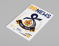 The Boys' Brigade Singapore Newsletter design