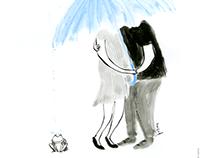 Jour de pluie 雨の日