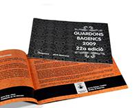 """Revista/Catàleg """"Premis Guardons Bagencs"""""""