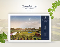 eCommerce Web UI/UX Design for Wine Company