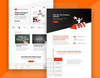Landing Page Design | Firecracker