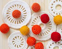 Unique crochet lace