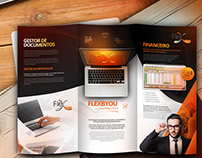 FLEXBYOU - 3fold brochure design