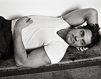 David Gandy for Glass Magazine - Photo by Roger Rich