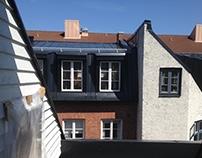 Vindsrenovering, Malmö 2016