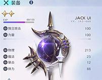 【JACK游戏UI】二次元欧美风中国风界面视觉设计交互创意插画原画手绘图标平面素材GUI/ICON/UIUX